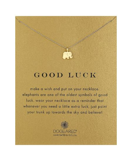 Good Luck Elephant Pendant Necklace. College Graduation Gifts for Her. #graduation #girls