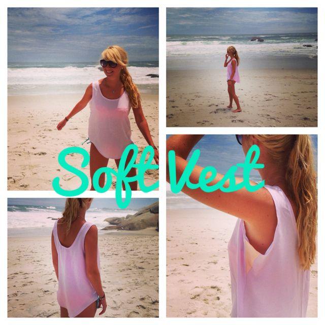 Pink Lemonade soft vest R250.00