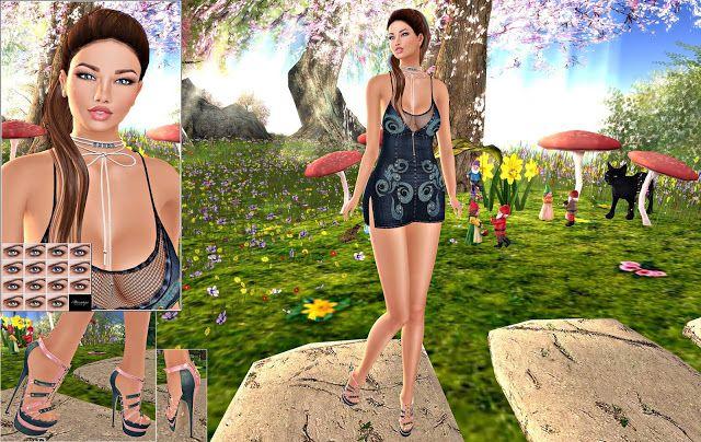 LISANA'S MODEL LIFE: Mesange Eyes, Dafnis Clothes, !Indulge Temptation!...