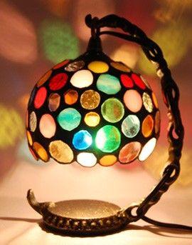 ステンドグラス ドットランプ|ライト・ランプ|ハンドメイド通販・販売のCreema