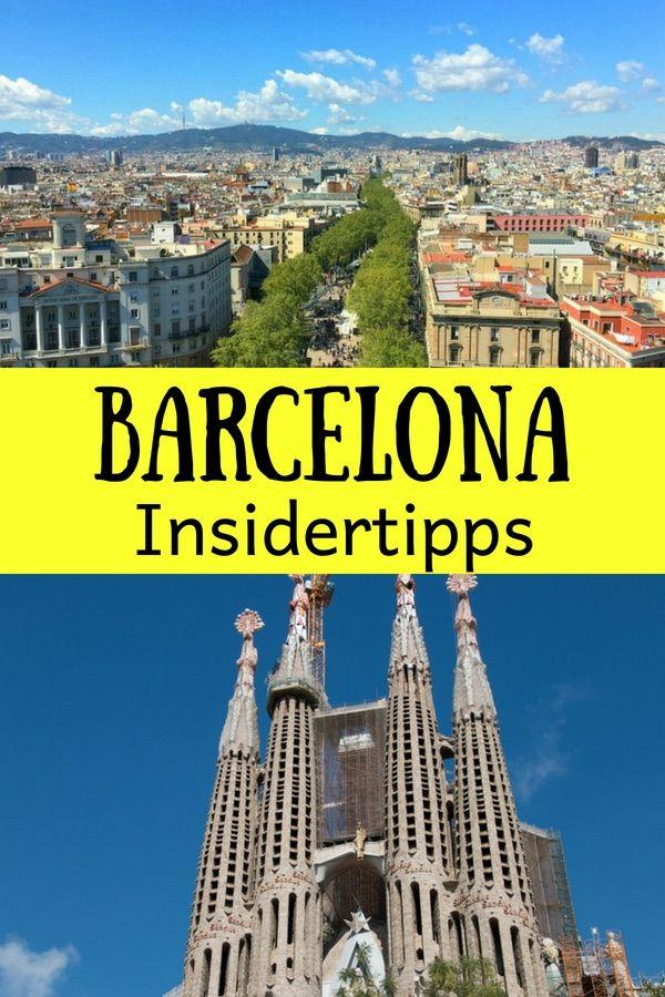 Barcelona Geheimtipps einer Einheimischen und der beste Barcelona Reiseführer 2019