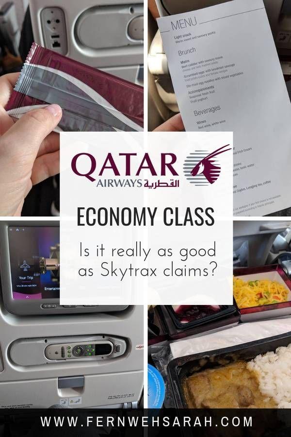 Review On Qatar Airways Economy Class Is It Really Best In Class Fernwehsarah Qatar Airways Economy Qatar Airways Business Class