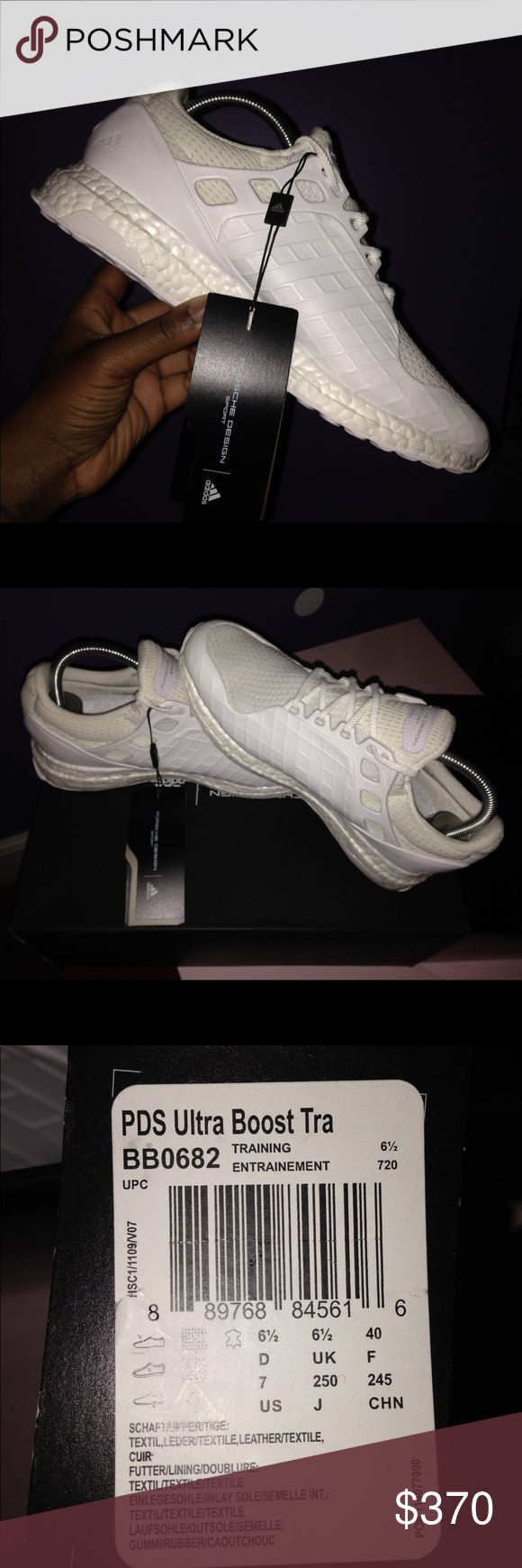 Porsche x Adidas Ultra Boost Brand new , includes dust bag , tags and box .