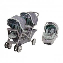 Graco Duoglider Double Stroller - Compatible With The Graco Snugride System