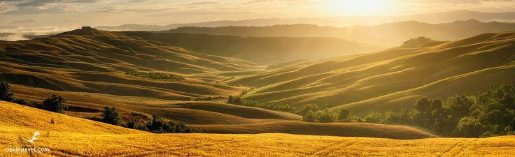 #194. Sunny Valley. Tuscany. Italy. - http://www.oskinpavel.com/