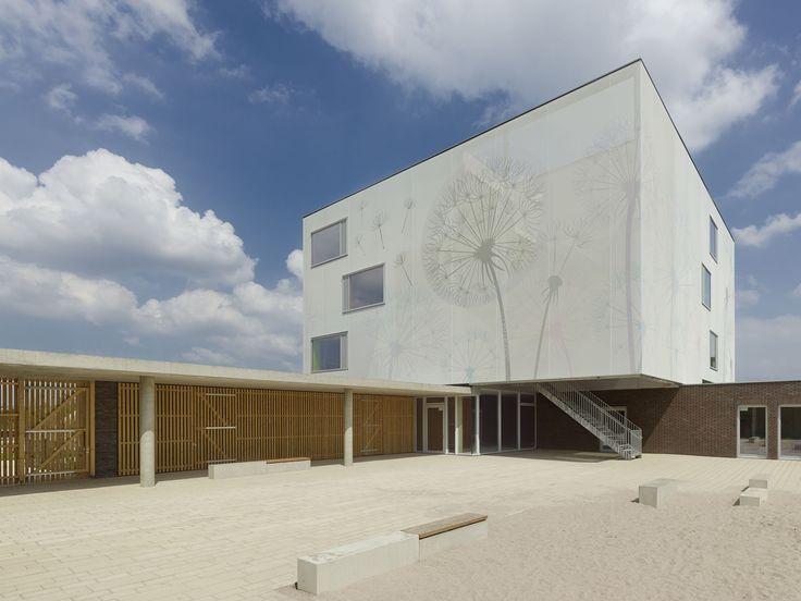Kita Flugfeld in Böblingen - Fassade - Kultur / Bildung - baunetzwissen.de
