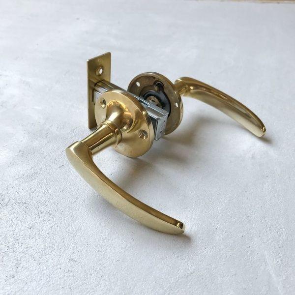 真鍮レバーハンドル Type1 レバーハンドル 美しい曲線 ドア