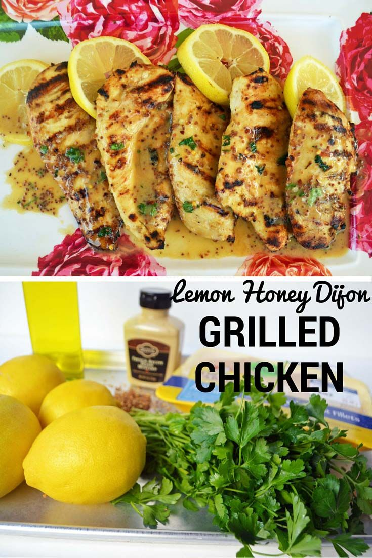 The best chicken marinade out there. It's tangy with fresh lemon, dijon mustard, olive oil, garlilc, and a touch of honey. It's packed with flavor and will elevate grilled chicken to another level. http://www.modernhoney.com/lemon-honey-dijon-grilled-chicken/