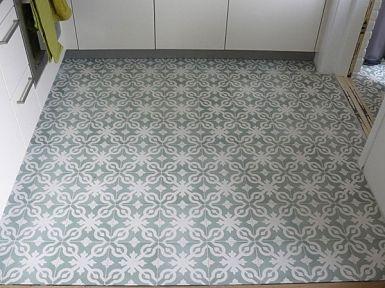 VN Azule 09 Olive Portugese cementtegel van Designtegels.nl