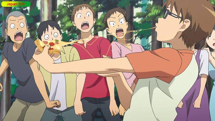 Gin no Saji episode 4 Hachiken Bakes Pizza