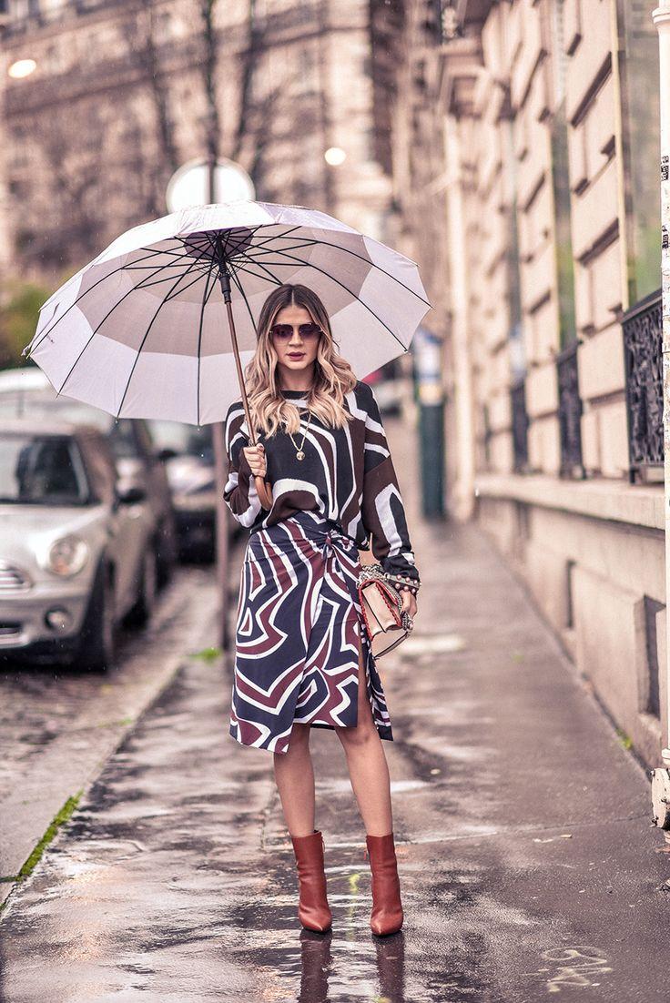 Look – Emilio Pucci | Bolsa – Fendi | Bota – Balenciaga