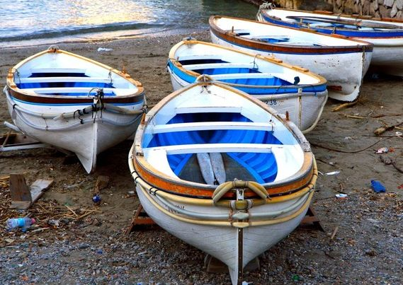 boats: Wall Art, Beaches Photographers, Beaches Home, Capri Boats, Wooden Boats, Cobalt Blue, Amalfi Coast, Blue White, Beaches Decor
