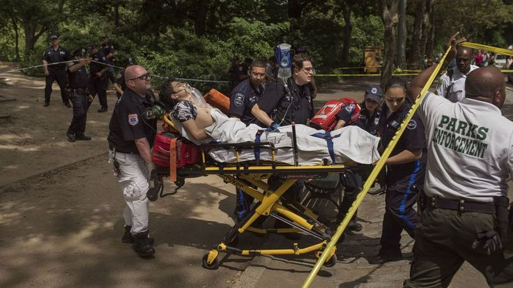 Man seriously injured after blast in New York's Central ParkAn injured man is carried to an ambulance in Central Park in New York Sunday  Image: Associated press /Andres Kudacki  By Patrick Kulp2016-07-03 20:00:00 UTC  An 18-year-old man may have lost a foot in an explosion in Central Park on Sunday police said.  A New York Police Department spokesperson told Mashable that the cause of the blast remained unknown as of Sunday afternoon but emergency personnel at the scene reportedly suspected…