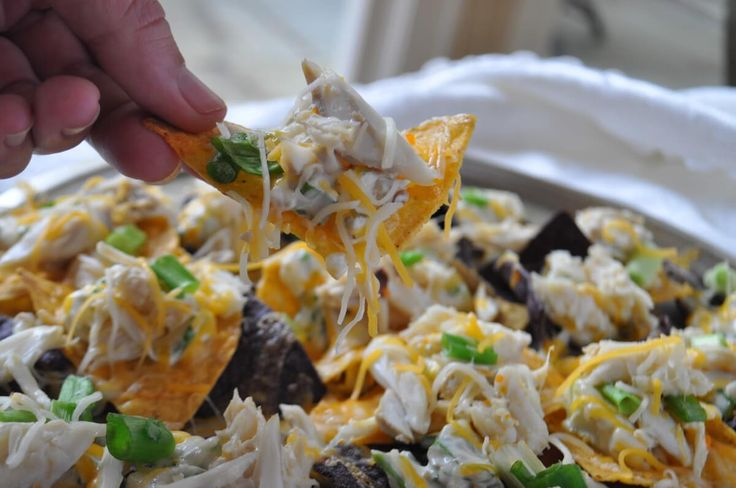Best nachos recipe is crab nachos if looking for crab appetizer recipes