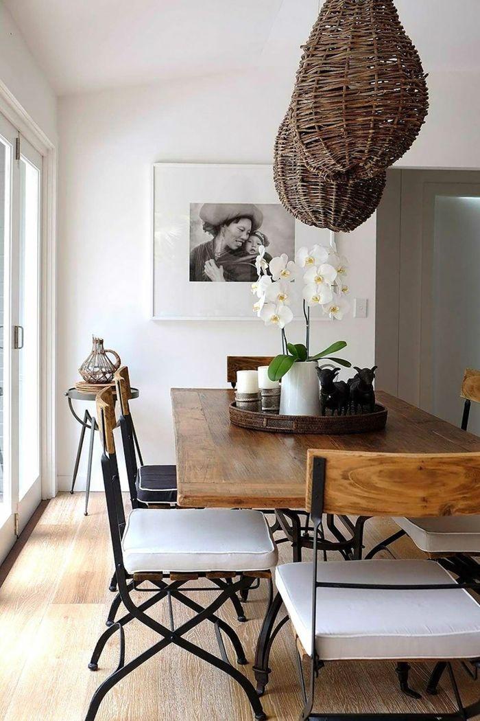 Die besten 25+ Moderne bauernhaus esstische und stühle Ideen auf - moderne massivholz esszimmermobel
