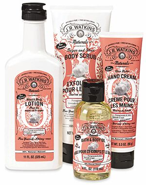 Pomegranate lotion!!  JR Watkins has amazing apothecary products that have lasted through generations. Quality health, beauty, bath, and kitchen products that stand the test of time.   Love that I can make money from home enjoying products that I love!