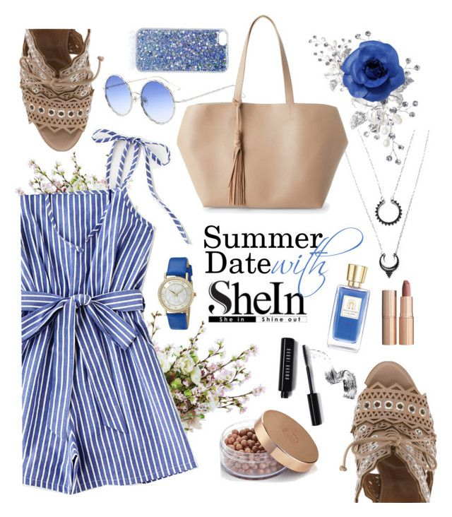 """Win SheIn $30 Coupon"" by maykarsy ❤ liked on Polyvore featuring Street Level, Alaïa, Akribos XXIV, Chanel, Bobbi Brown Cosmetics, Lancôme, Charlotte Tilbury and Topshop"