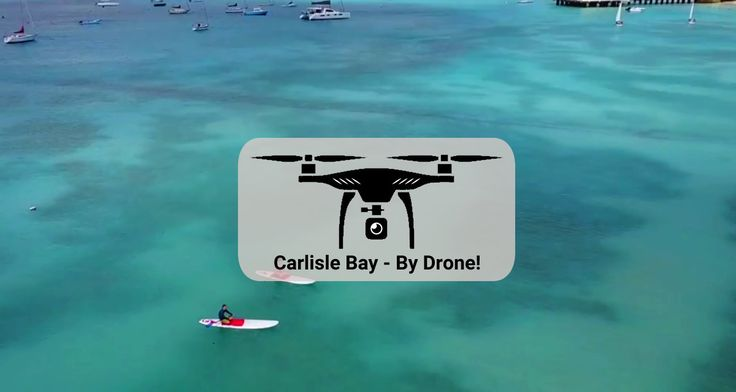 Enjoy beautiful Carlisle Bay Barbados by drone and on paddle boards!
