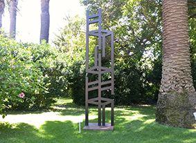 Triplet. Sculpture made from mild steel