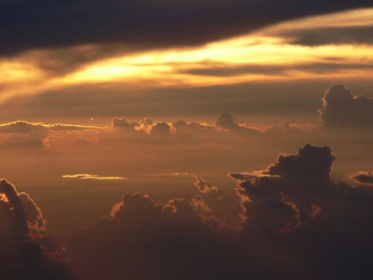 cielo, nublado, nubes, rayos, luz, atardecer, 1706301749