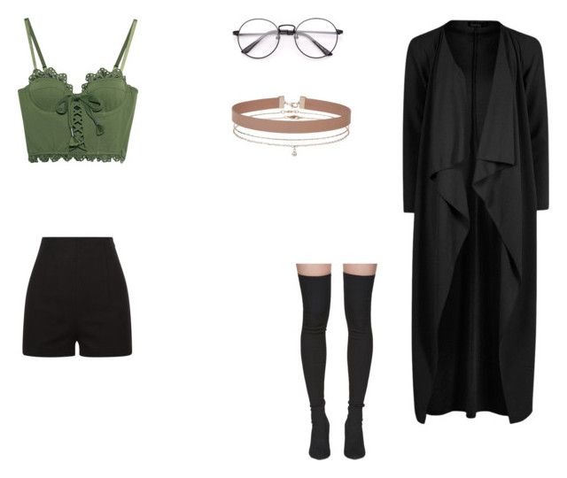 """""""Lene's millennium uniform outfit"""" by nameless333 on Polyvore featuring Boohoo, Puma, Yeezy by Kanye West, La Perla and Miss Selfridge"""