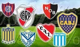 Resultado de imagen para escudos de futbol argentino para imprimir