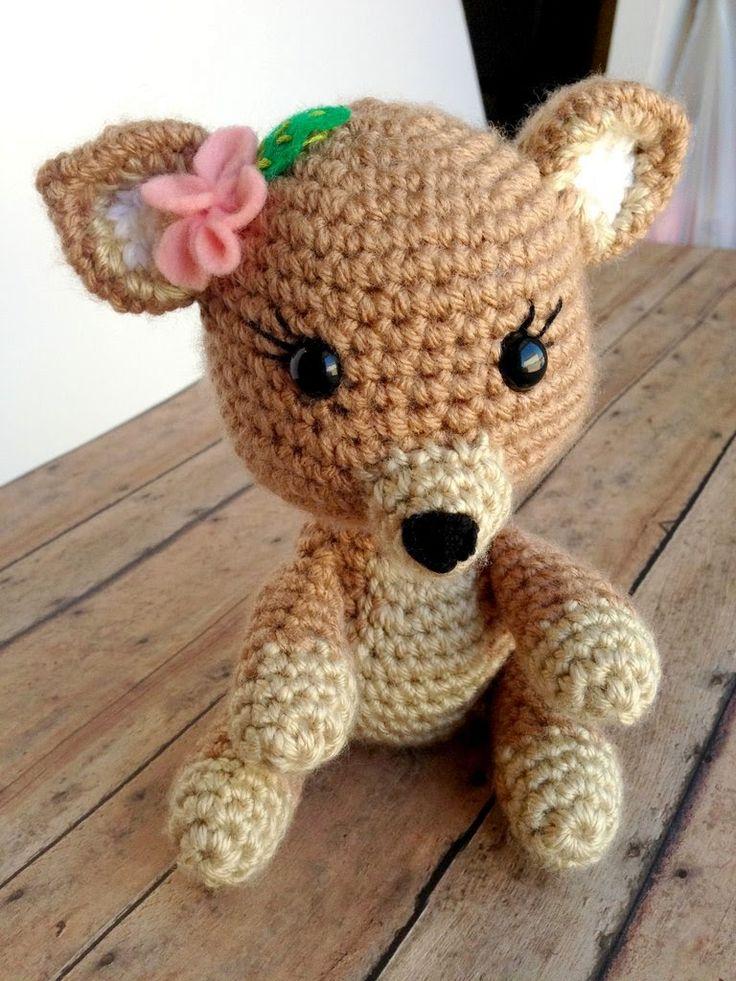 Free Crochet Deer Afghan Pattern : 17 beste idee?n over Crochet Deer op Pinterest - Gehaakte ...