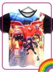 FB04   Kaos Big Hero 6 Red Baymax  large