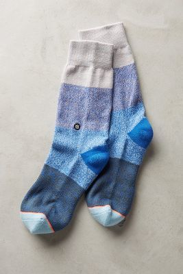 Stance Indigo Patch Socks  #anthrofave #anthropologie