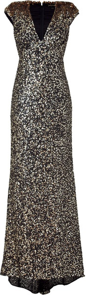 NEW SEASON FALL 2012 JENNY PACKHAM  HRH CATHERINE Duschess of Cambridge 's designer   MOON DUST  Sequin Long Dress     dressmesweetiedarling