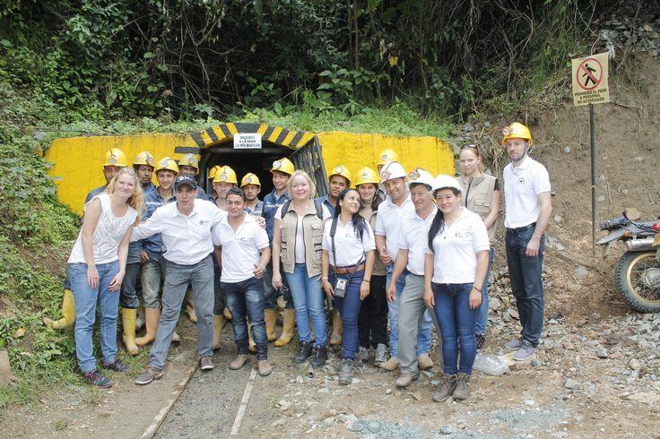 Certifikovaný důl v kolumbijské Iquire