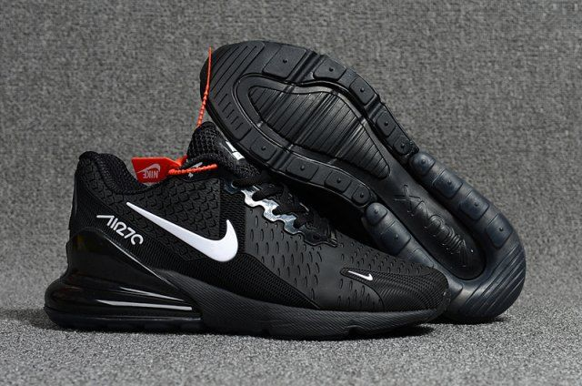 Nike Air Max Flair 270 Kpu Black White Men S Running Shoes Sneakers Nike Air Max Nike Air Max Running Shoes For Men