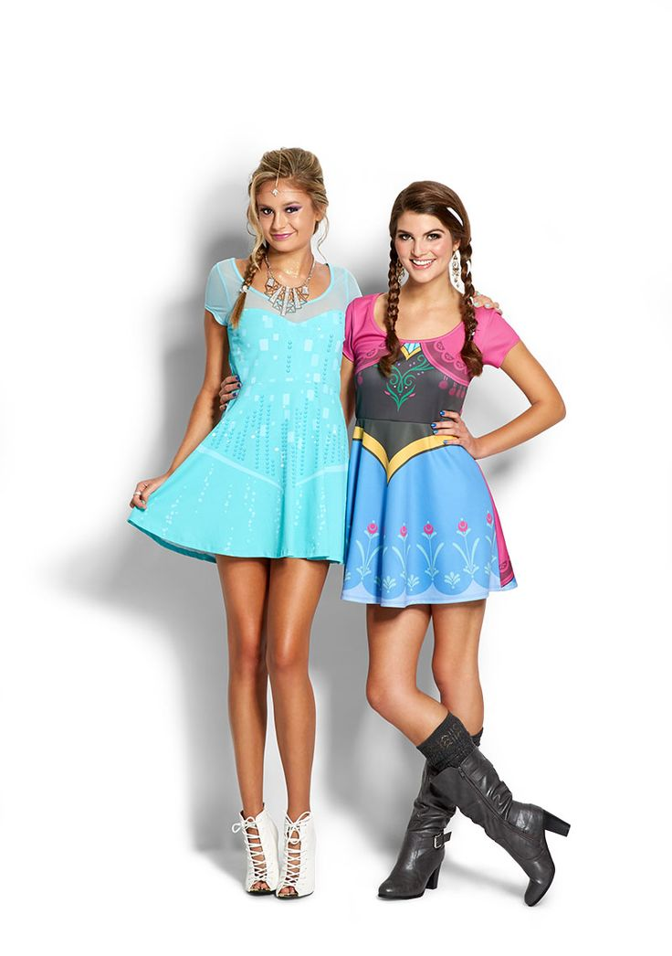 #Frozen Halloween Costumes @ubbeautiful we need to do this together. Dibs on elsa