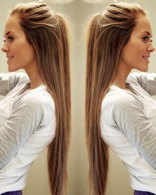 Stupendous 1000 Ideas About Easy Long Hairstyles On Pinterest Haircuts Short Hairstyles For Black Women Fulllsitofus