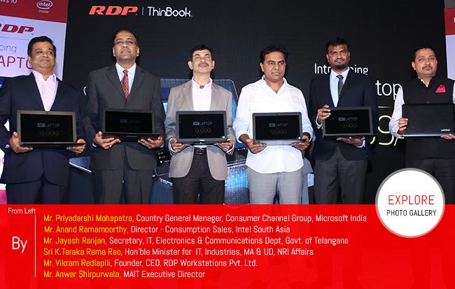 RDP Thinbook Launching Event