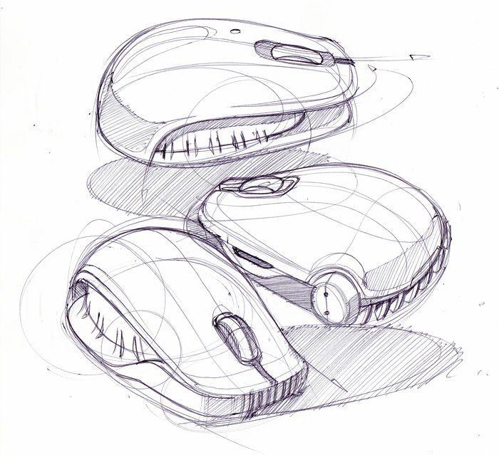 Computer Mouse Industrial Design Sketch Design Sketch Sketch Design