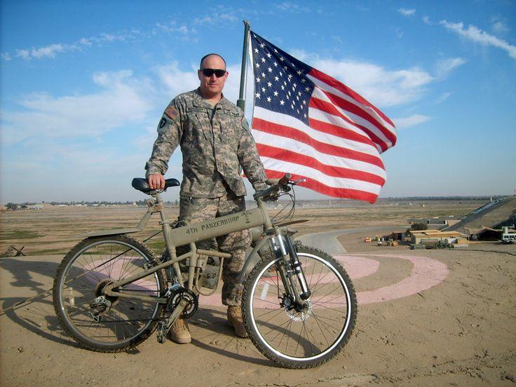 Велосипед Montague был разработан специально для вооруженных сил НАТО.