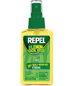 Repel Lemon Eucalyptus Insect Repellent Pump Spray