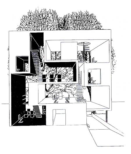 House Architecture Plan 136 best 3d representation images on pinterest   architecture