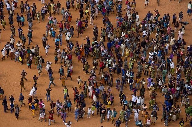 Écoliers à Bobo-Dioulasso, Hauts-Bassins, Burkina Faso