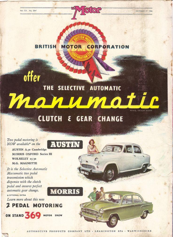 Best British Motor Corporation Images On Pinterest British