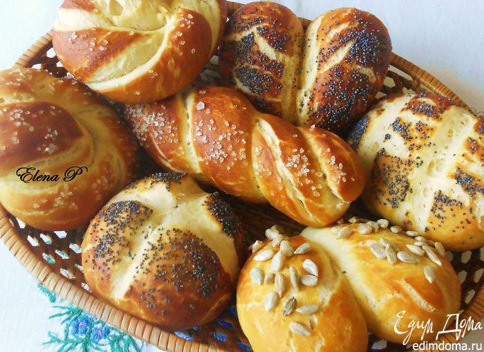 Немецкие булочки к завтраку. | Кулинарные рецепты от «Едим дома!»