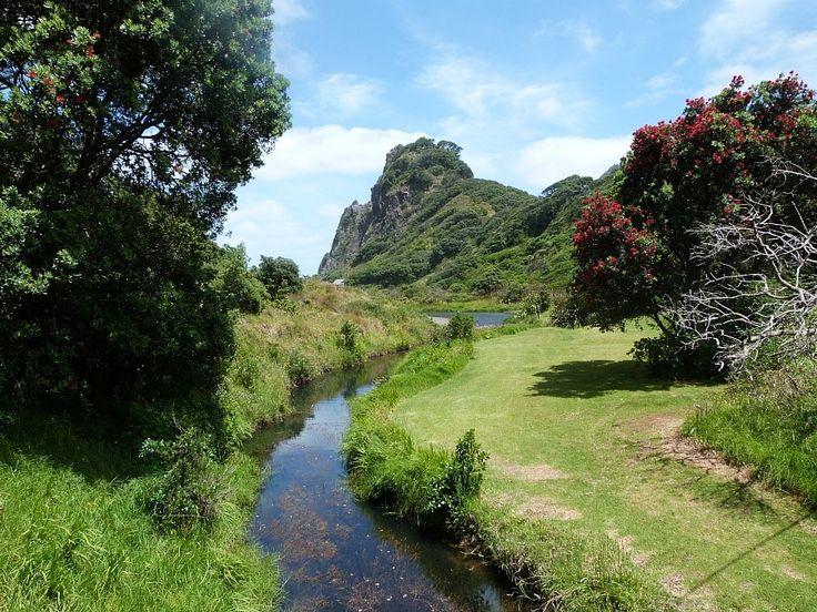 , Nový Zéland.
