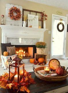 15 Intelligenteste Und Wärmste Herbst Wohnzimmer Dekoration