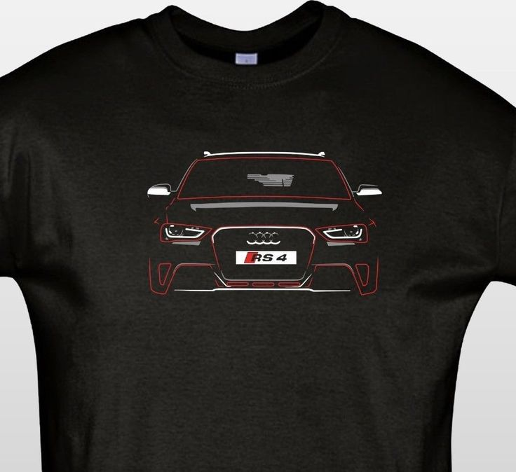 audi rs4 b8 t shirt new graphic design audi t shirt. Black Bedroom Furniture Sets. Home Design Ideas