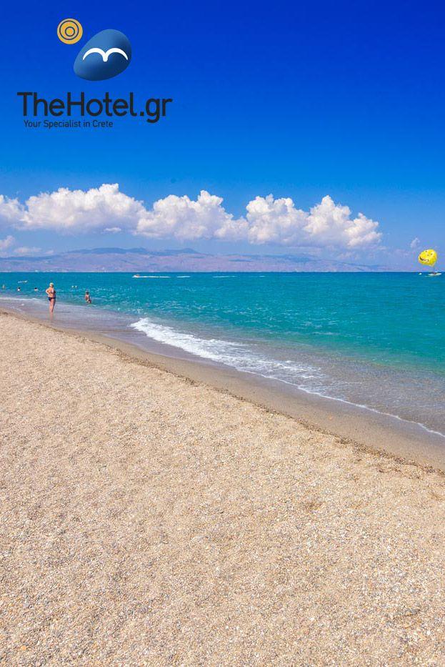 Platanias beach in Chania #crete #travel #inspiration