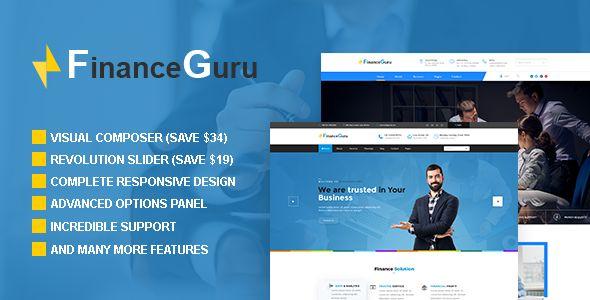 Finance Guru - Consulting Business, Finance Theme