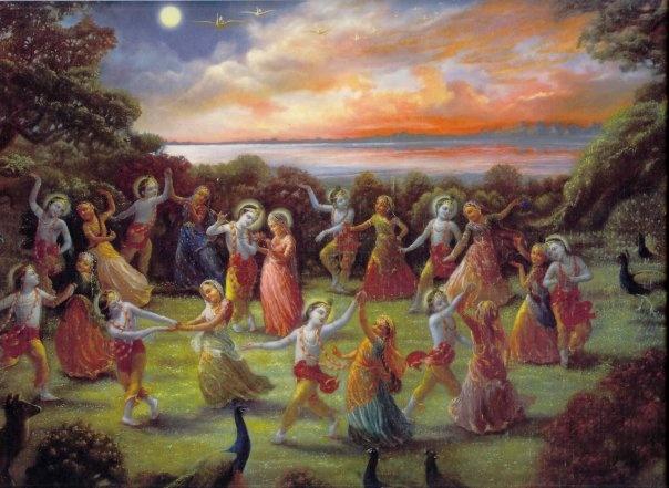 Krishna com Gopis