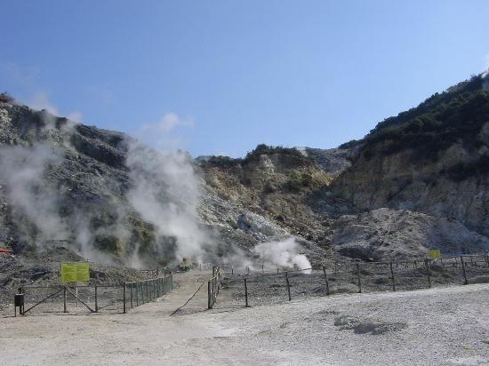 Solfatara Volcano -   Many fumaroles