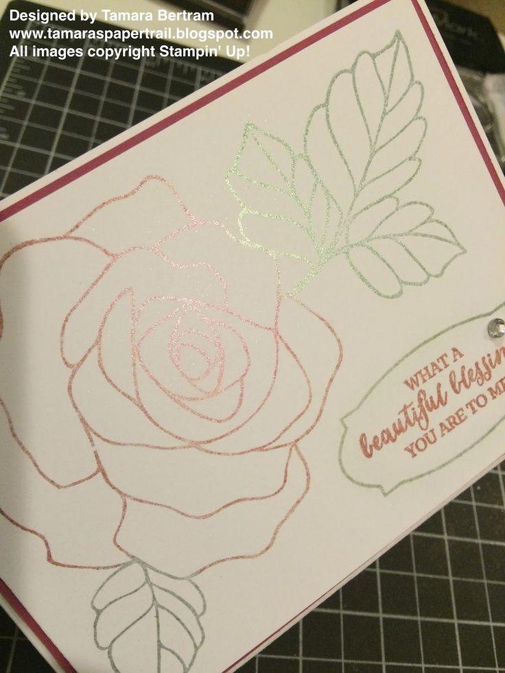 Tamara's Paper Trail: Poppin' Eyeshadow Technique!